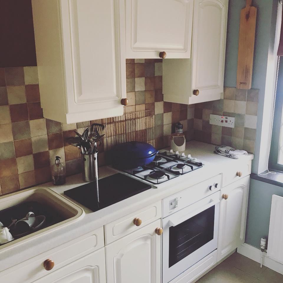 Kitchen two sprayed