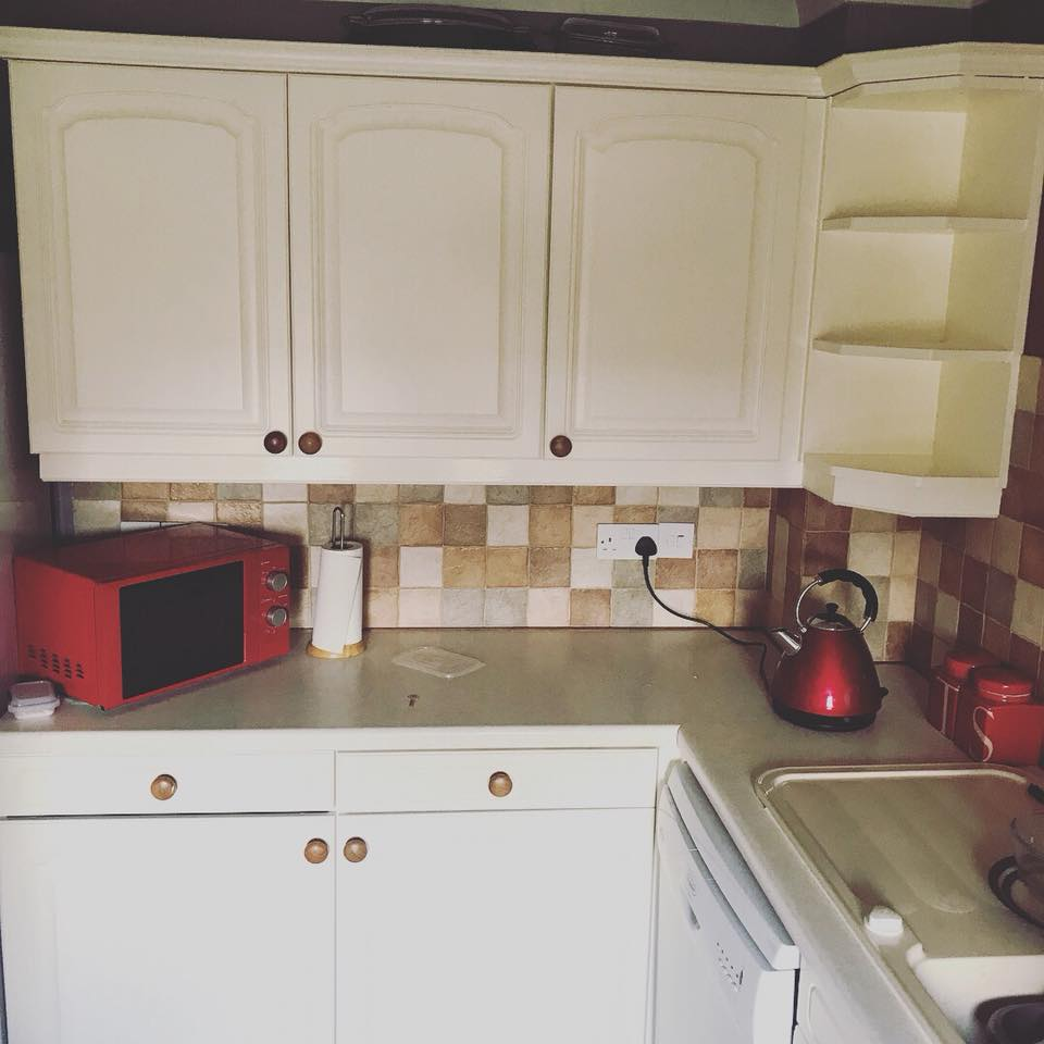 Kitchen three sprayed